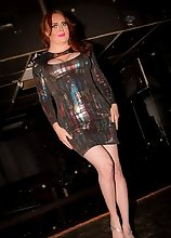 Wendy William's June Steamy Hot Tranny Party in a Bar