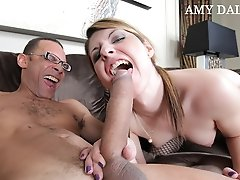 Amy Daly just has one thing on her mind....some hardcore Ramon cock