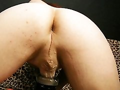 Lovely tgirl Summers fucks a fleshlight